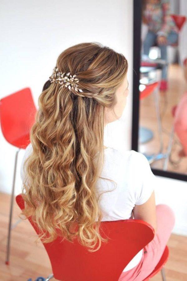 Peinados faciles para fiesta de 15 peinado - Peinados fiesta faciles ...