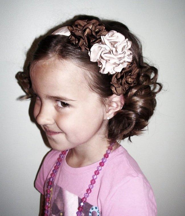 Peinados f ciles para ni a y mujer cabello corto y largo - Ideas para peinar cabello largo ...