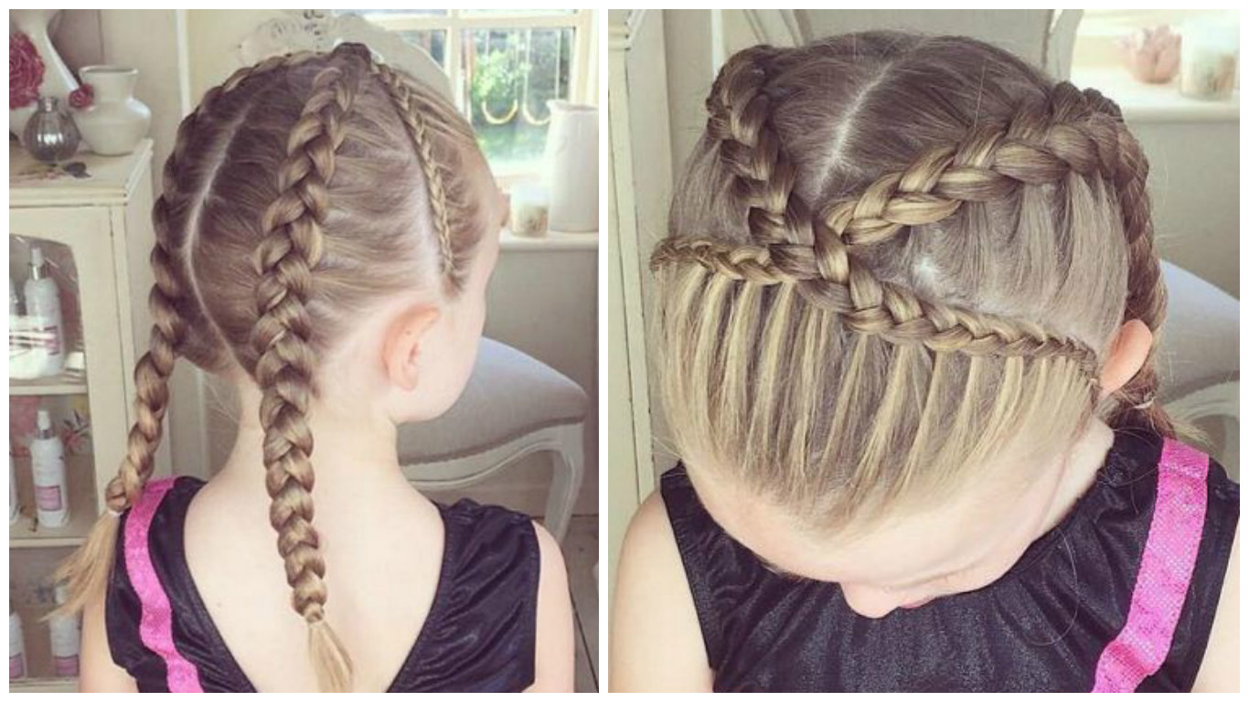Peinados f ciles para ni a y mujer cabello corto y largo - Peinados nina pelo largo ...