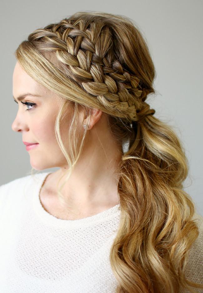 110 peinados de moda 2017 tendencias de peinados - Peinados actuales de moda ...