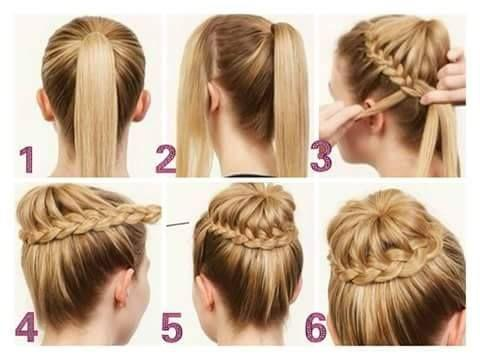 peinados para comunin de nias de peinados