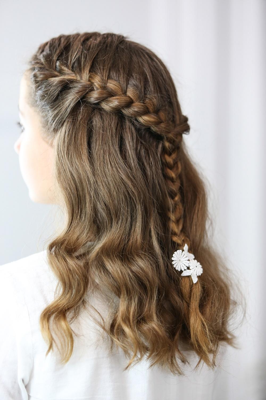 110 peinados para comuni n de ni as de peinados - Peinados para nina ...