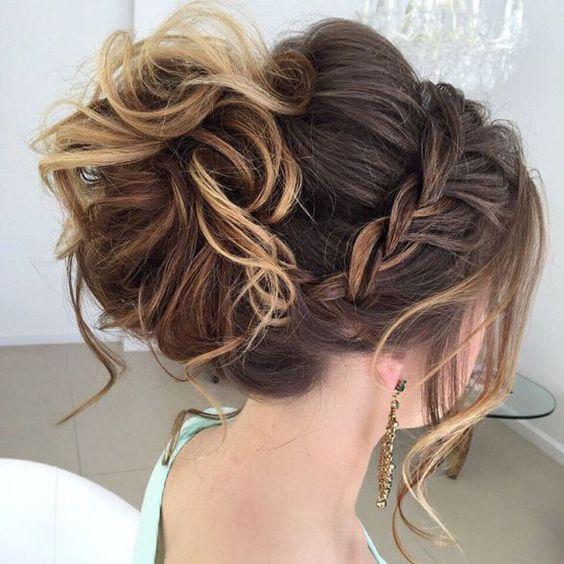 60 peinados f ciles recogidos y semirecogidos para cabello - Fotos de recogidos bajos ...
