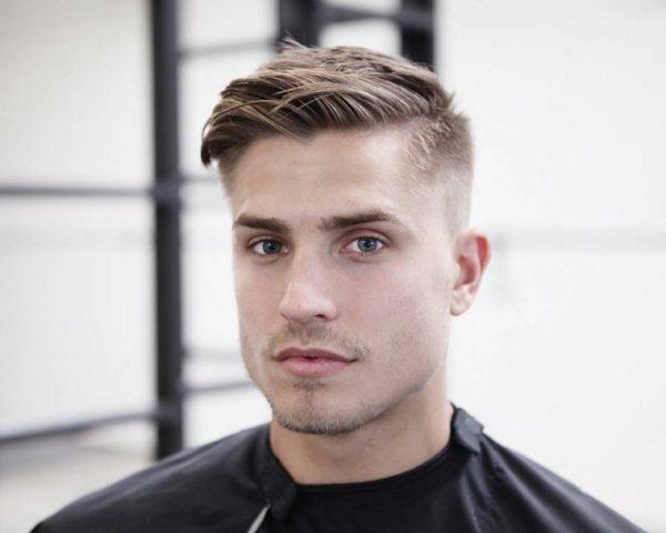 corte de pelo de hombre moderno