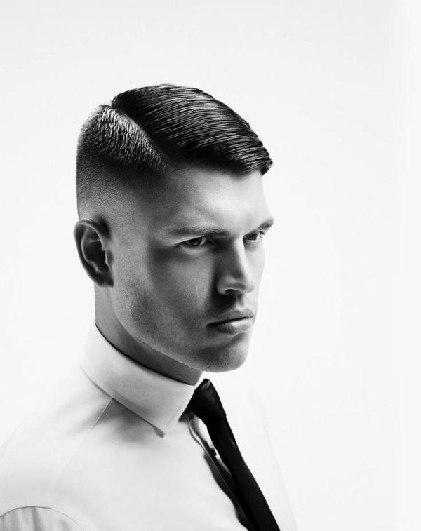 imagen con hombre con corte de pelo clsico