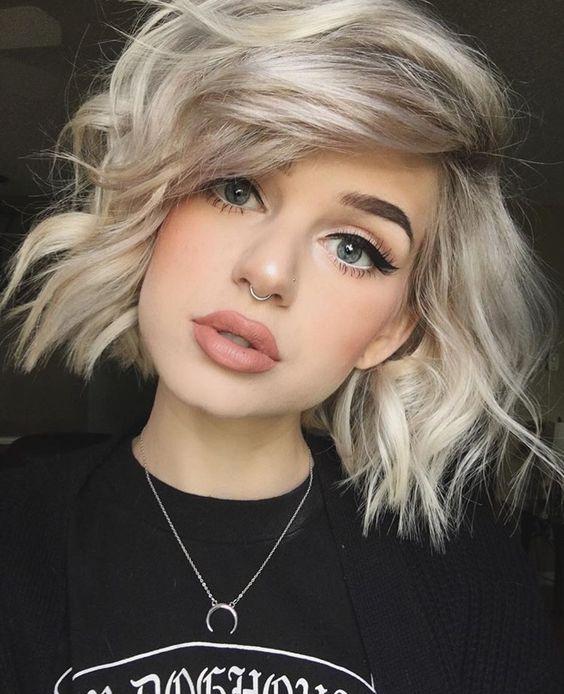 corte de cabello corto con el que se puede hacer un peinado hermoso con trenzas