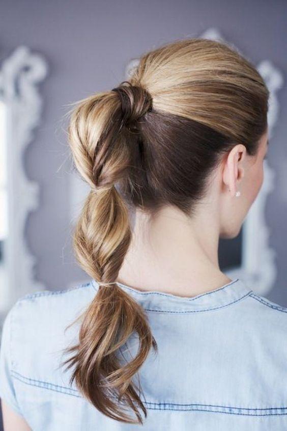 bellas imgenes con peinados recogidos informales y simples para descargar