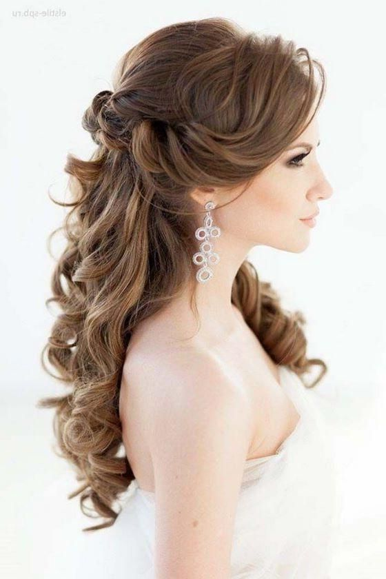 156 peinados para fiesta de d a y noche de peinados for Imagenes semirecogidos