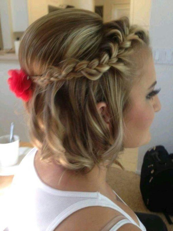 156 peinados para fiesta de d a y noche de peinados - Peinados melena corta ...