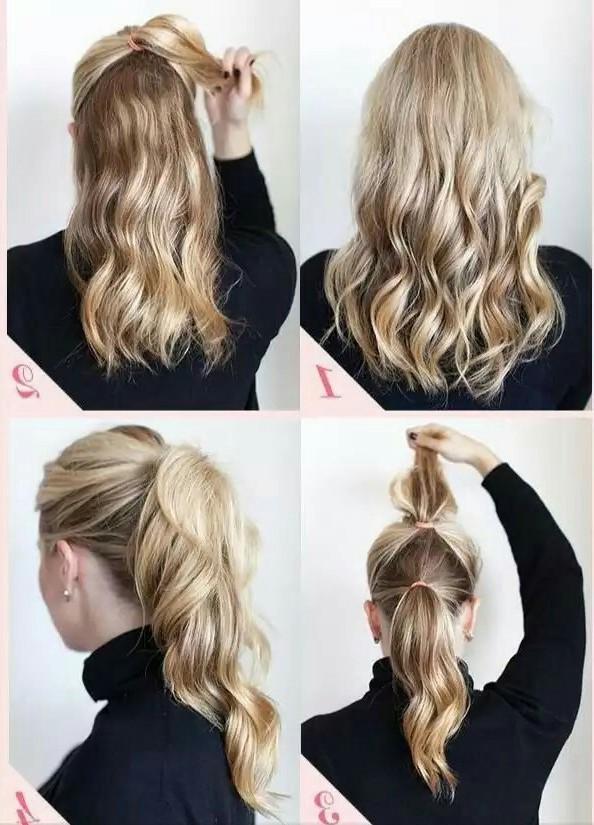 156 peinados para fiesta de d a y noche de peinados for Recogidos bonitos y sencillos
