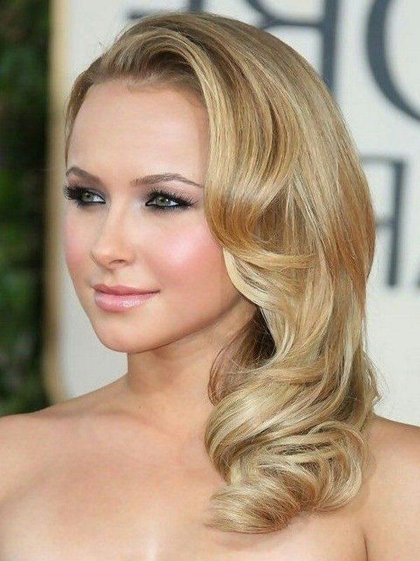 estas famosas con sus estilos bien contrastantes nos dan idea de peinados para fiesta muy actuales - Peinados Actuales