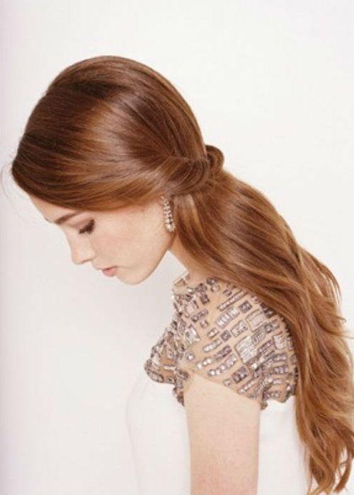 Peinados semirecogidos sin trenzas