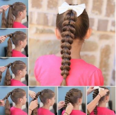 Peinados Faciles Para Nina Y Mujer Cabello Corto Y Largo De Peinados