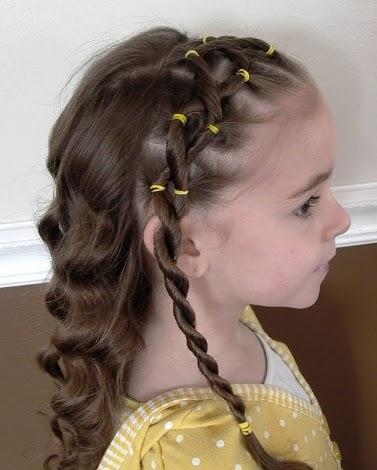 Peinados faciles con cabello suelto y ondulado