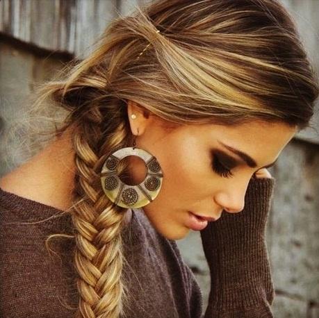 115 Peinados Con Trenzas Todos Los Tipos De Peinados - Peinados-informales-con-trenzas