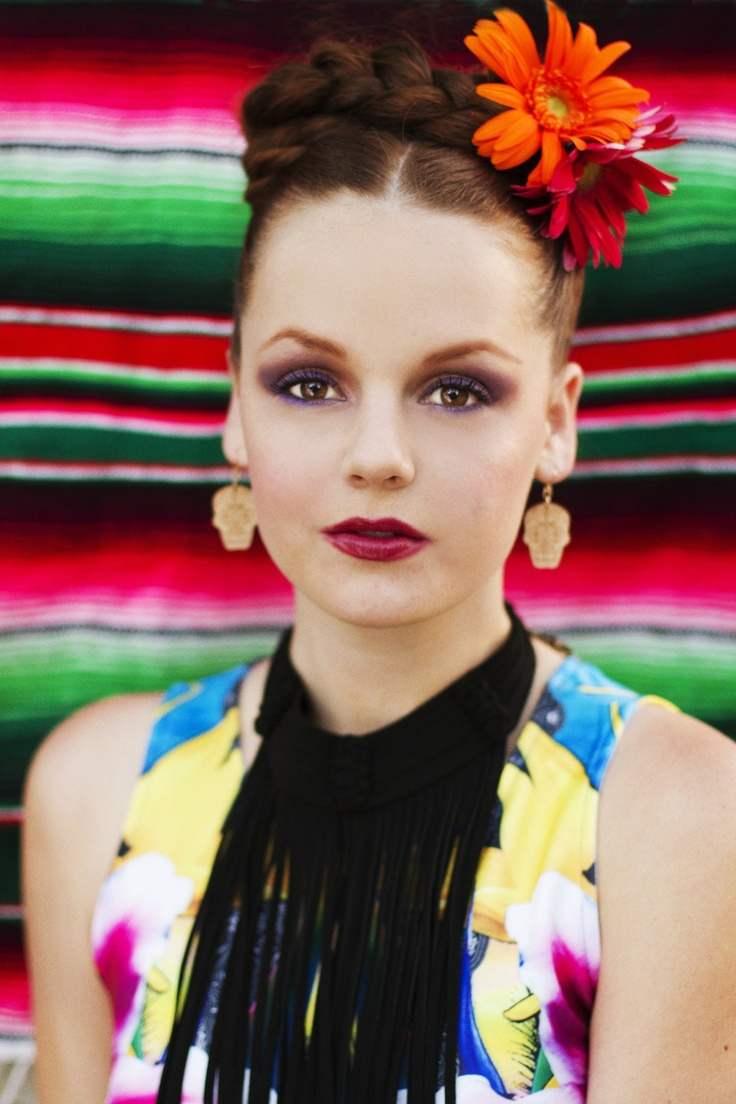 Bonito y cómodo peinados mexicanos Fotos de tutoriales de color de pelo - 115 Peinados con Trenzas - Todos los tipos - De Peinados