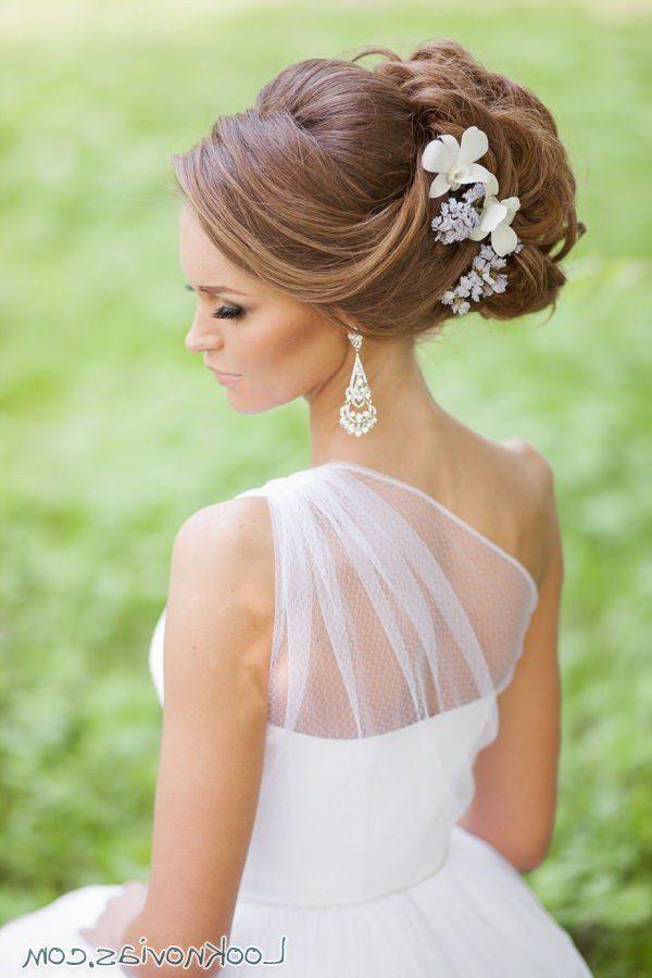 101 peinados de novia 2017 de peinados for Recogidos altos para novias