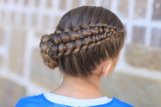 Peinados con trenzas para primera comunion 2015