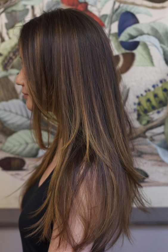 Cortes de pelo para mujer 2017 largo