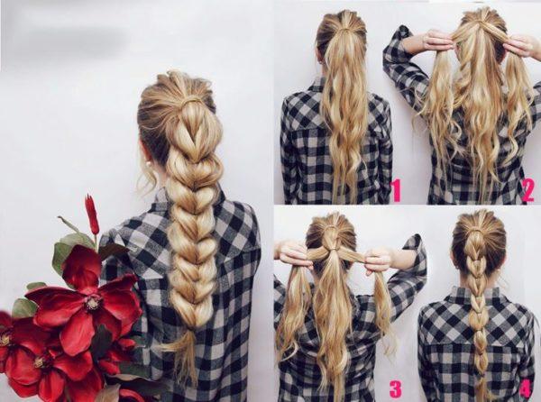 60 Peinados Faciles Recogidos Y Semirecogidos Para Cabello Largo