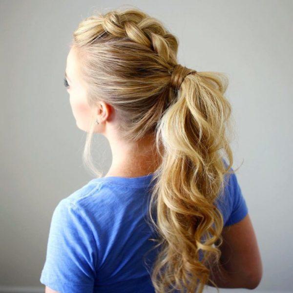 60 Peinados fciles recogidos y semirecogidos para cabello largo
