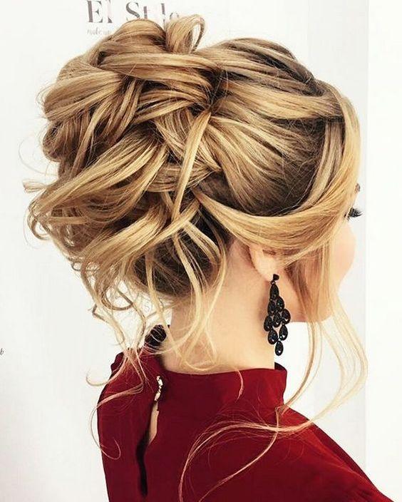 60 peinados f ciles recogidos y semirecogidos para cabello for Imagenes semirecogidos