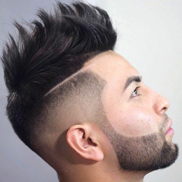 Corte de pelo para hombres la cresta