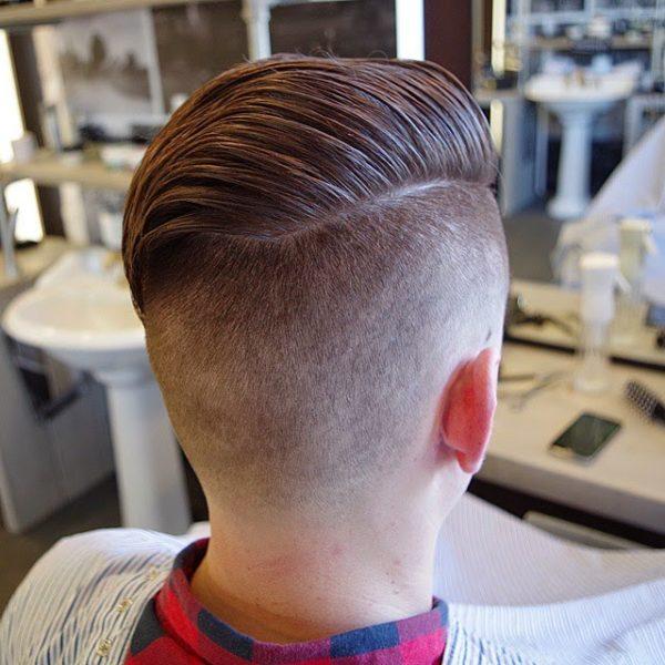 Corte de pelo hombre desde atras