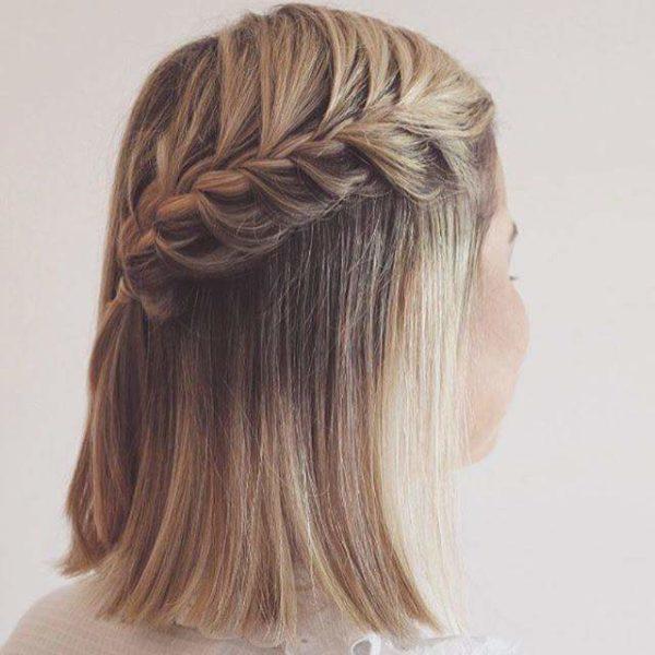 Trenzas para cabello hasta los hombros
