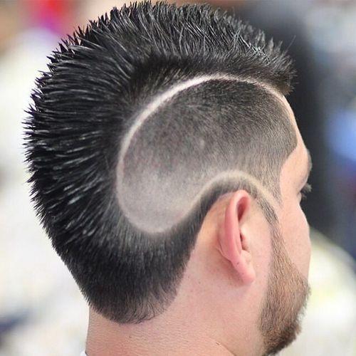 Peinados Con Líneas O Rayas Para Hombres Tendencia 2019