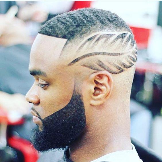 peinados con l neas o rayas para hombres de peinados