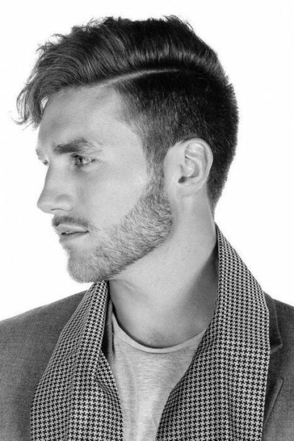 Peinados Con Lineas O Rayas Para Hombres De Peinados - Pelados-para-hombres