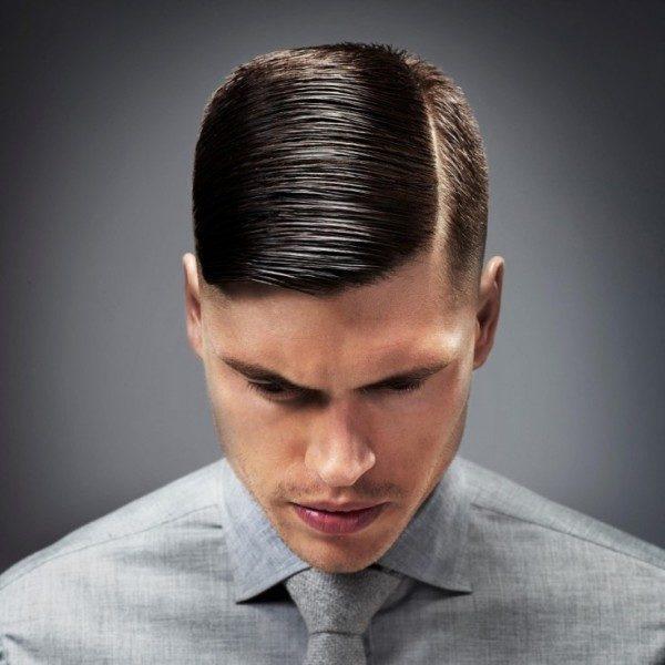 Peinados Con Lineas O Rayas Para Hombres De Peinados - Cortar-pelo-hombre