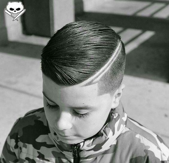 Más notable peinados hombre con raya Colección de estilo de color de pelo - Peinados con líneas o rayas para Hombres - De Peinados