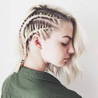 Tipos De Peinados Para Cabello Corto Muy Femeninos De Peinados