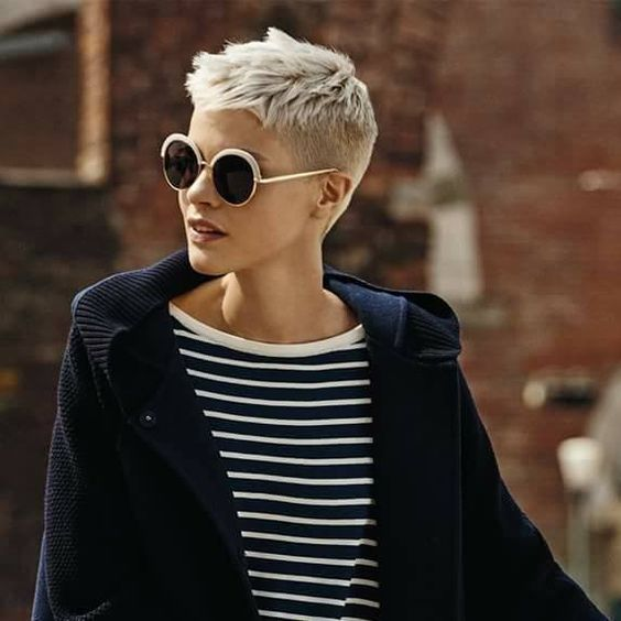 Peinados Pelo Muy Corto Mujer Solo Otra Idea De Decoracion De Imagen