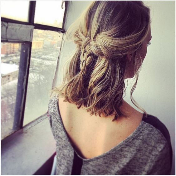 Peinados Con Ondas Trenzas Y Rulos Para Cabello Corto Y Largo De