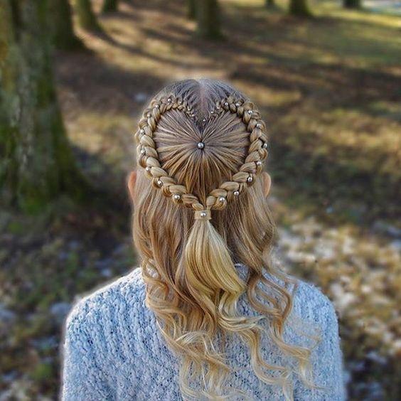 Peinados Con Ondas Trenzas Y Rulos Para Cabello Corto Y Largo De Peinados