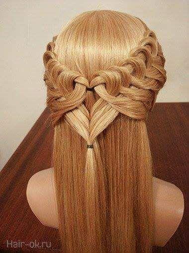 Peinados con ondas trenzas y rulos para cabello corto y - Semirecogidos faciles para hacer en casa ...