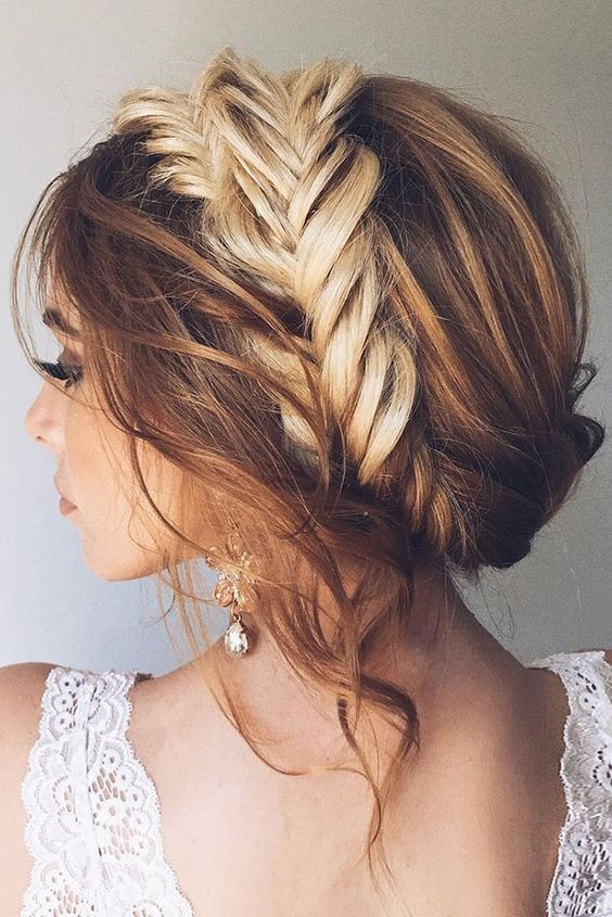 Ver peinados elegantes con trenzas