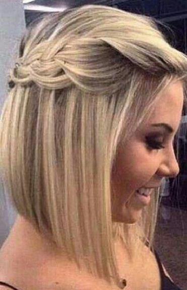 Peinados romanticos en pelo corto