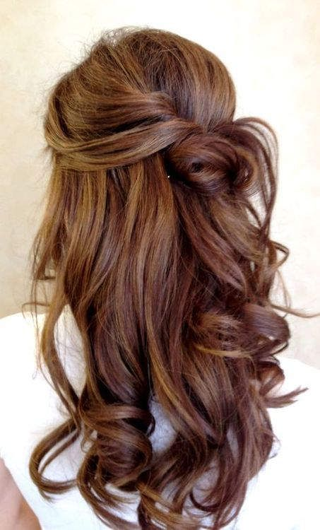 Peinados De Lado Semirecogidos Con Ondas Bucles Y Trenzas De