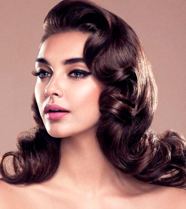 Peinados Anos 50 60 Y 80 Para Mujeres Vintage De Peinados