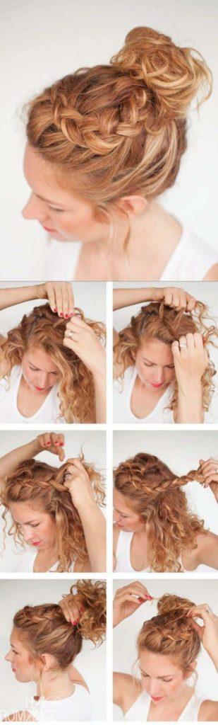 Más notable peinados faciles para pelo rizado Galería de cortes de pelo Consejos - Cortes y peinados para cabello rizado, cortos, largos y ...