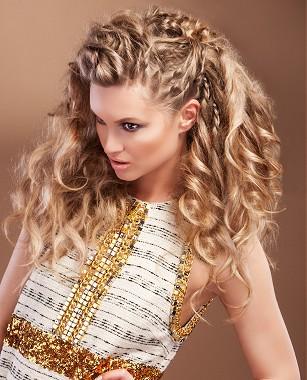 Cortes y peinados para cabello rizado cortos largos y recogidos