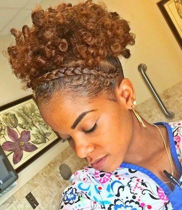Tipos de peinados para cabello rizado corto