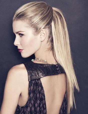 magnifico peinado para lucir en una fiesta - Peinados Lisos