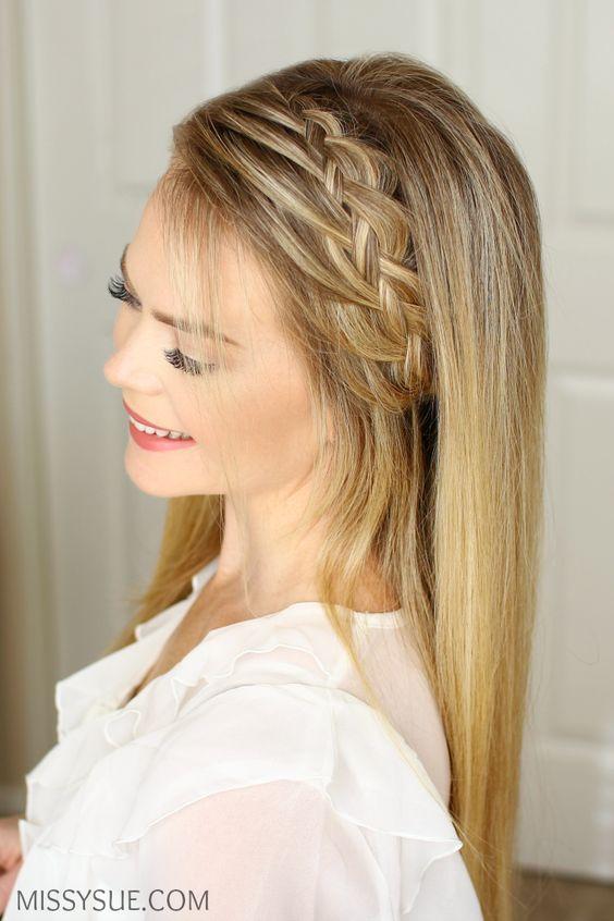 imagen con peinado muy hermoso - Peinados Largos