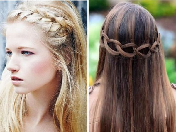 dos peinados muy lindos - Peinados Pelo Largo Suelto