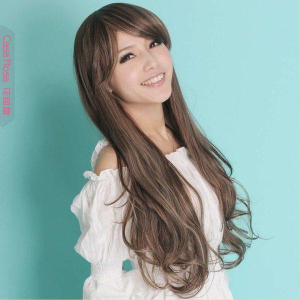peinado super lindo para mujer de cabello largo y lacio - Peinados Largos